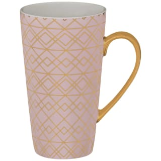 Art Deco Latte Mug - Blush