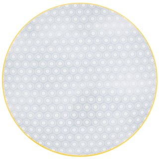 Moroccan Style Dinner Plate - Ochre