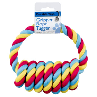 Gripper Rope Tugger - Pink