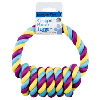 Gripper Rope Tugger - Purple