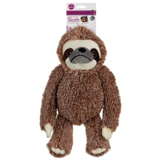 Sloth Dog Toy - Red