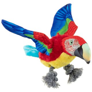 Flying Bird Dog Toy - Parrot