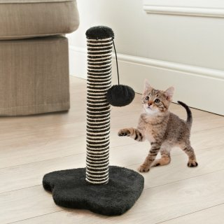 Kitty Scratching Post - Black