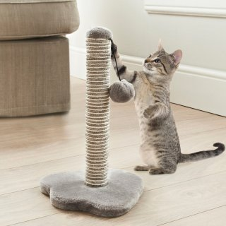 Kitty Scratching Post - Grey