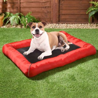 Pet Mattress Cooling Mat - Red