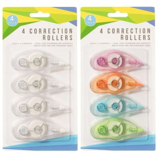 Correction Rollers 4pk