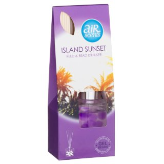 AirScents Gel Reed Diffuser - Island Sunset