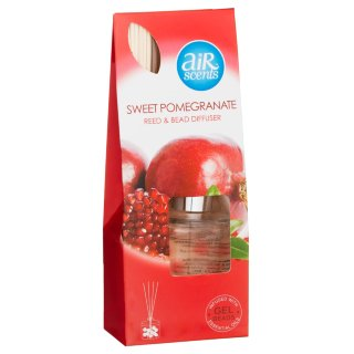 AirScents Gel Reed Diffuser - Sweet Pomegranate