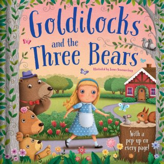 3D Pop Up Book - Goldilocks