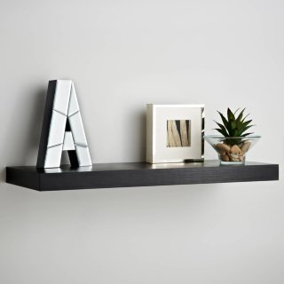 Lokken Floating Shelf 60cm - Black
