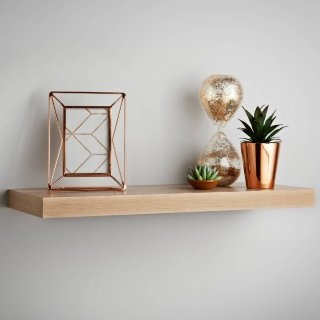 Lokken Floating Shelf 60cm - Oak