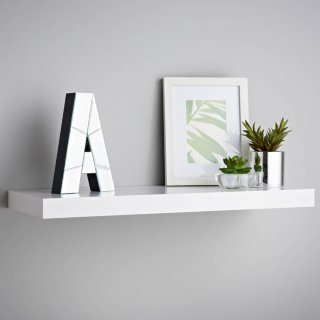 Lokken Floating Shelf 60cm - White