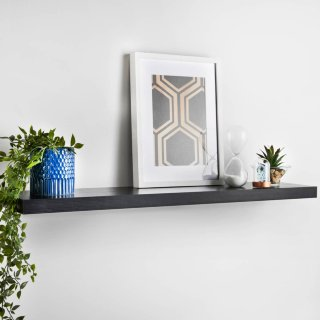Lokken Floating Shelf 100cm - Black