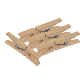 Wooden Clothes Pegs 50pk