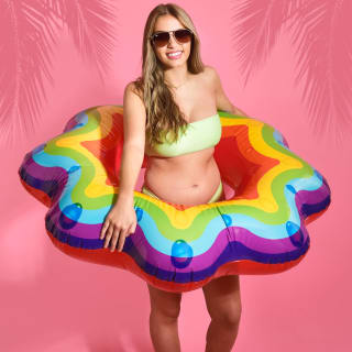Inflatable Swim Ring - Rainbow