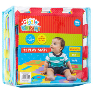Giggle & Grow Interlocking Play Mats 12pk