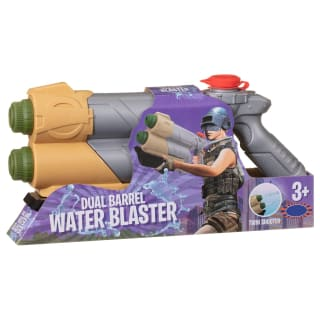 Dual Barrel Water Blaster - Brown