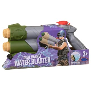 Dual Barrel Water Blaster - Green