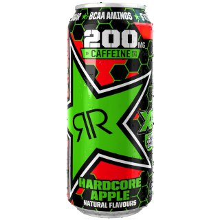 Rockstar Hardcore Apple Energy Drink 500ml