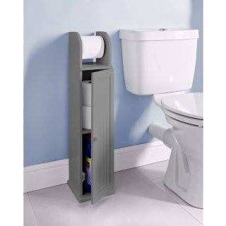 Maine Toilet Roll Holder - Grey