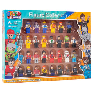 Brick by Brick Figure Collection 30pk