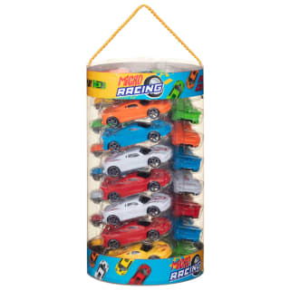 Micro Racing Car Set 24pk