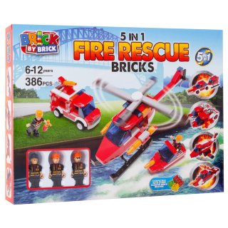 5-in-1 Fire Rescue Bricks