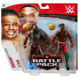 WWE Big-E vs Woods Battle Pack Action Figures 2pk