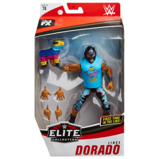 WWE Elite Collection Lince Dorado Action Figure