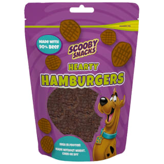 Scooby Snacks Hearty Hamburgers Dog Treats 85g