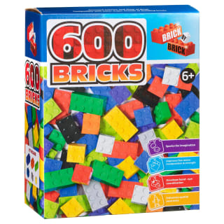 Brick by Brick 600 Bricks