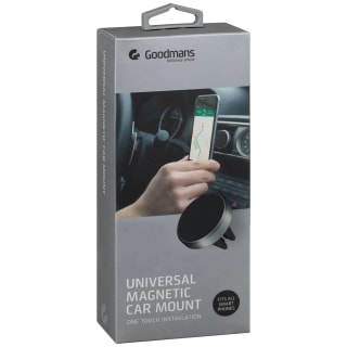 Goodmans Universal Magnetic Phone Car Mount - Black