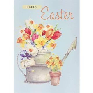 Watering Can - Easter Card