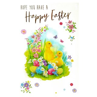 Chicks & Eggs - Easter Card
