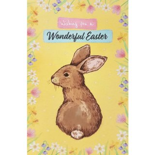 Rabbit - Easter Card
