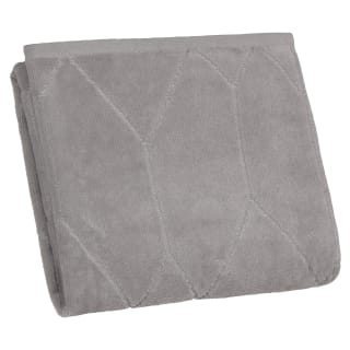 Lurex Geo Hand Towel - Grey