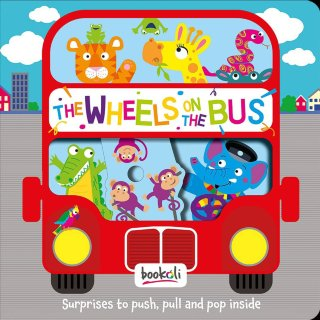 Push-Pull-Pop Wheels on the Bus Book