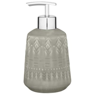 Skandi Tribal Textured Soap Dispenser - Grey