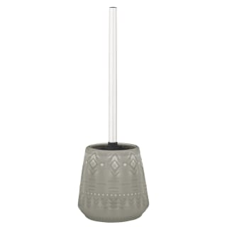 Skandi Tribal Textured Toilet Brush - Grey