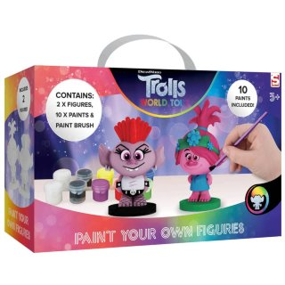 Trolls Paint Your Own Figures 2pk