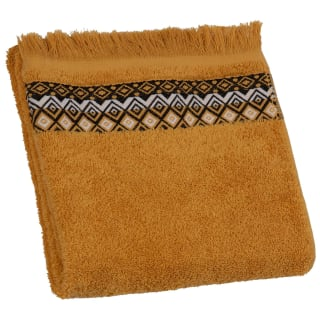 Tribal Tassel Hand Towel - Ochre