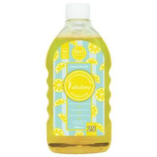 Fabulosa Concentrated Disinfectant 500ml - Lemon Sherbet
