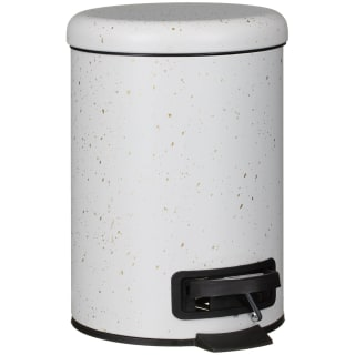 White & Gold Speckled Bin 3L