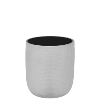 Textured Rounded Tumbler - Silver