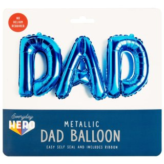 Metallic Dad Balloon