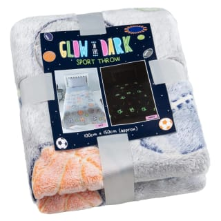 Glow in the Dark Throw - Sports
