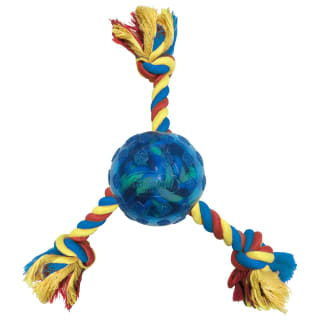 Scooby-Doo Rope Tug with Ball - Blue