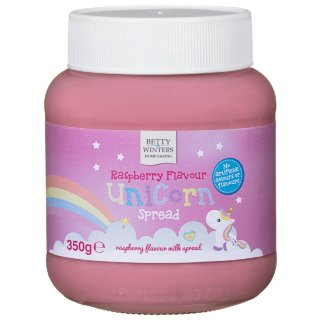 Betty Winters Raspberry Flavour Unicorn Spread 350g