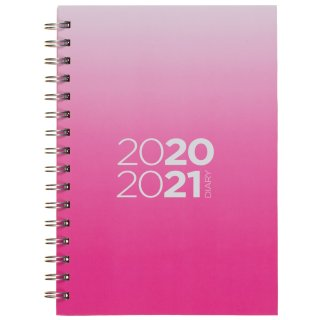 A5 Academic 2020/21 Diary WTV - Pink