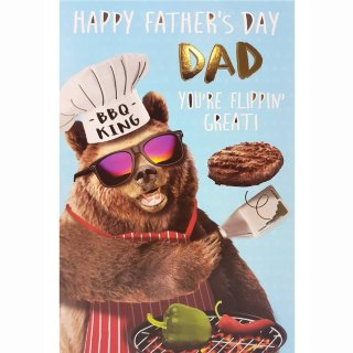 BBQ King - Father's Day Card